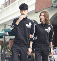 Wholesale Spring Male Outfits - Han edition sweethearts outfit suits in the spring and autumn of 2016 the new fleece; male and female big yards cultivate one's morality lei