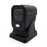 Wholesale Barcode Reader Laser - JP-OM2 Omni-directional Barcode Scanner 1500mm sec High Speed Barcode Scanner USB Scanner Laser Barcode Reader
