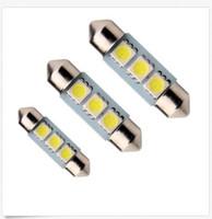 Wholesale Car Hid Light Price - 100PCS 36mm Car Interior Dome Festoon Light Bulb 3 SMD 5050 C5W LED Light Lamp 12V wholesale price