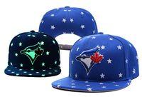 Wholesale Toronto Blue Jays Hats Cheap - 2017 Blue Jays football Snapback Basketball Snapbacks Toronto Baseball Snap Back Hats Womens Mens Flat Caps Hip Hop Caps Cheap Sports Hats