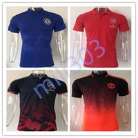 Wholesale Quick Drying Polo - Best quality 17 18 alexis RAMSEY S.CAZORCA WILSHERE GIROUD OZIL WALCOTT XHAKA jersey 2017 2018 Chelsea Man United Casual polo shirt