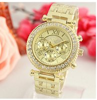 Wholesale Michael Watches Woman - Fashion Watches michael Quartz Watch Casual Full Steel Dial Style woman All over the sky stars Crystal Diamond Rome Word Dial Style Watches