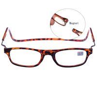 ingrosso occhiali da lettura appesi-Lettore girevole regolabile anteriore per lettore multimediale. Occhiali da lettura magnetici per uomini e donne 4 Colries 7stream disponibili da 1 a 4 OL02