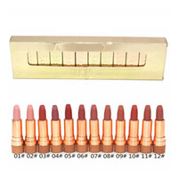 Wholesale gold lipsticks resale online - DOSE OF COLORS LIQUID MATTE LIPSTICK GOLD Limited Edition Set Waterproof Lip Gloss Colors Brand New