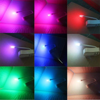 Nuevo coloridos WC Nightlight Sensor de movimiento humano automático LED Night Lights Luz Bowl Cuarto de baño Noche 8 Color lámpara Veilleuse
