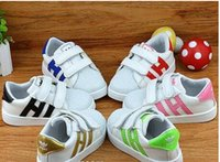 Wholesale Styles Shoes Boys - brand New Style Superstar Shell Head Sneakers Children Sport Shoes Running Shoes for kids,boys sneakers and girls Children's casual shoes