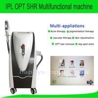 Wholesale Pigmentation Removal Laser - IPL OPT SHR Laser machine for hair removal skin rejuvenation pigmentation removal vascular removal