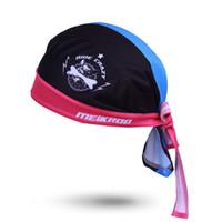 schwarzes kopftuchstirnband großhandel-Freies Verschiffen Radfahren Schal Cap Schweiß Bandana Kopftuch Stirnband schnell trocknend Fahrrad Cool Hund schwarz blau Stil Hut