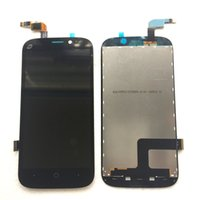 Wholesale Replacement Touch Screen Panel Zte - for Original ZTE Allstar Z818L Z818G Z819C Z819L LCD Screen Touch Digitizer Replacement No frame -Black