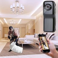Wholesale Security Wireless Camera Iphone - Mini DV Wifi Camera Portable Hidden Camera Video Recorder Security DVR for Iphone Android ipad PC Remote View Spy Video Camera MD80 MD81S