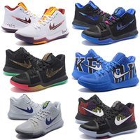 Wholesale Low Heals - Hot Sale Kyrie Irving 3 Basketball Shoes for High quality Kyrie 3s Medal Honor What the N7 Easter Sports Training Sneakers Size 7-12