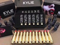 Wholesale Quality Stock Photos - Kylie Jenner Lipstic Limited Edition 12 pcs Matte Lip Sticks Set Hight Quality Kylie Cosmetics Real Photos In Stock