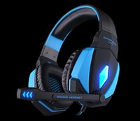 Wholesale Surround Sound Gaming Headphones - G4000 USB Pro Gaming Headphone Headset Game Surround Sound Noise Cancelling Casque with Bass Mic for Computer Fone PC Gamer