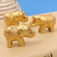 Wholesale wedding table name holders resale online - Party Seat Name Card Note Picture Clip Holder Creative Elephant Table Decor Reception Favor Wedding Supplies dt F R
