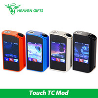 Tesla Touch TC Mod 150W avec film de protection d'écran Multiple Protections Max 12V Tesla Box Mode 100% d'origine