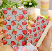 Wholesale fruit color notepads cartoon cm paper memo pad Notebook Cute Diary Book Office School notebook page stationery top quality