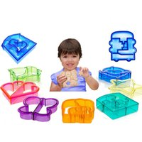 Wholesale Wholesale Plastic Box Cutters - DIY Bread Cutter Sandwich Cutter Toast Cutters Bread Crust Remover Bread Mould Lunch Box Mold Cute Butterfly Shape