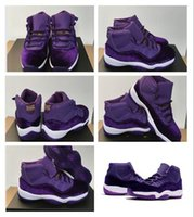 Wholesale Cheap Lycra Top - Wholesale 2017 top quatily Womens Air Retro 11 Velvet Heiress Purple cheap Basketball Shoes Sneakers hot sale Outdoor Sports Shoes