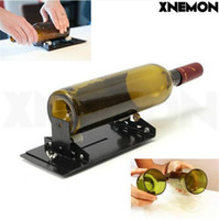 Wholesale Tools For Cutting Glass - XNEMON Glass Bottle Cutter Machine for Wine Beer Glass Bottles Bottle Cutting Tool Cutters with Plastic Pulley, YG8 Cutter Wheel
