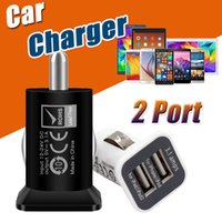 USAMS 3.1A 3100mha Carregadores USB Dual Car 5V Dual 2 Port Car Chargers Adaptador para iPad iPhone X 8 7 Plus 6 6S iPod iTouch HTC Samsung LG Sony