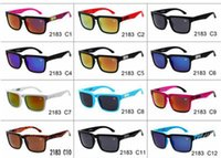 Wholesale Sunglasses Helm Block - 2017 Brand Designer Spied Ken Block Helm Sunglasses Fashion Sports Sunglasses Oculos De Sol Sun Glasses Eyeswearr 12 Colors Unisex Glasses