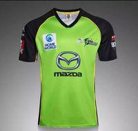 Wholesale cricket jersey for sale - 2016 Sydney Rangers Green rugby jersey Cricket Shirt rugby jersey top quality men rugby jerseys