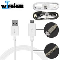 Wholesale S7 One - 1m  3 ft cell phone usb charging cable for v8 micro data cable work with HTC one samsung s6 edge s7 edge