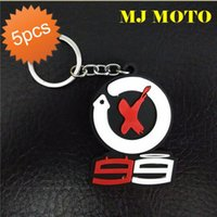 Wholesale Motorcycle Cool Keychains - 5pcs lot motogp Season 99 Riders Lorenzo 99 Riders Mark Marquis Cartoon PVC Key Chain Cool Motorcycle Key Ring Sporty Keychains