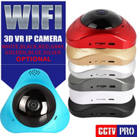 360 graus de panorama 3D VR WIFI câmera IP 960P Baby Monitor 1.3MP Home Security CCTV WI-FI Camera Smart Two Way Audio P2P