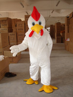 Wholesale Chicken Costume White - 2015 High Quality Adult Size White Chicken mascot Costume vctfhb8