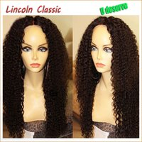 Wholesale Virgin Afro Kinky Lace Front - Mongolian Virgin Kinky Curly Full Lace Wigs Best Natural Afro Kinky Curly Glueless Lace Front Human Hair Wigs For Black Women
