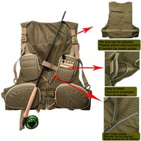 Wholesale Outdoor Fishing Hunting VestsMaxcatch Fishing Vest With Multifunction Pockets Light Fly Fishing Jacket For