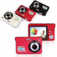 "Wholesale Digital Super Zoom Camera - Wholesale- Newest 18Mp Max 1280x720P HD Video Super Gift Digital Camera with 3Mp Sensor 2.7"" LCD Display 8X Digital Zoom and Li-battery"