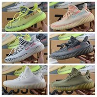 Wholesale Core Body - Adidas Originals Yeezy 350 V2 Boost Beluga Cream White Copper Black Red Core Red Bred Zebra Black White Olive Green Kanye West Running Shoes