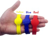 Wholesale rfid silicone bracelet for sale - Group buy 50Pcs RFID KHz EM4100 ID Color Waterproof Silicone Wristband Watch Tag Bracelet Watch Card Proximity ID Access Control