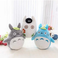 Wholesale Bamboo Charcoal Packaging - Wholesale-1pcs 15cm cute soft plush cartoon animal totoro toy filling with bamboo charcoal package creative family car decorated toy gift