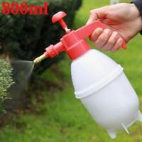 ingrosso giardinaggio spray bottiglie-2017 Attrezzi da giardino 800ml annaffiatoio portatile pressione giardino impianto Spray bottiglia di plastica giardino irrigazione a spruzzo