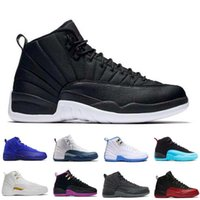 2017 air retro 12 XII Basketball Shoes homme The Master Gym Red Taxi Playoffs gamma french blue sneaker sports de haute qualité US 8-13