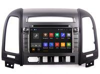 Wholesale Car Stereo Tv Hyundai - Android 5.1 Car DVD Player GPS Navigation for Hyundai Santa Fe 2006-2012 with Radio Bluetooth USB SD AUX Video Stereo 3G WiFi
