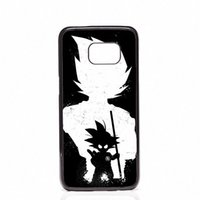 Wholesale fit ball mini - DRAGON BALL Z Super Saiyan God Son Goku Phone Covers Shells Hard Plastic Cases For Samsung Galaxy S4 S5 MINI S6 S7 edge S8 S8 Plus