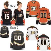 Womens Anaheim Ducks Custom Jerseys 67 Rickard Rakell 50 Antoine Vermette  22 Dennis Rasmussen 37 Nick Ritchie Hockey Jerseys d0311da86