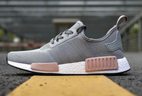 Wholesale Cheap Classic Shoes - 2018 Wholesale Discount Cheap pink red gray NMD Runner R1 Primeknit PK Low Men's & Women's shoes Classic Fashion Sport Shoes With Boxes