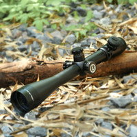 alcance de punto rojo de fibra óptica al por mayor-Leupold MARK 4 6-24X50 M1 Alcance táctico del rifle Óptica de la caza Alcance del punto rojo y verde Retículo de la fibra Alcance del ojo largo Alivio
