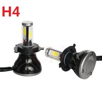 Il più nuovo faro per auto H4 LED High Low 40W 4000LM Bianco 6000K Repearcement Car Styling Purple Style Unique Headlight