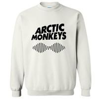 macaco homem suéter venda por atacado-Mulheres Homens Primavera Arctic Monkeys Casual Impresso Hipster Música Punk Estilo Hoodies Harajuku Camisola de Manga Longa