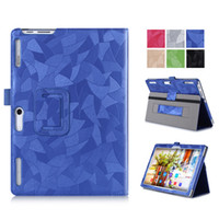 Wholesale Tablet Case Painting - Wholesale-3D Painted Leather Case Flip Cover For Lenovo Tab 2 A10-30F A10-70 A10 30 X30 x30f Tablet Protective skins WIth hand Strap