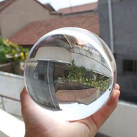 Wholesale Natural Crystal Ball Stands - Asian Rare Natural Quartz Clear Magic Crystal Healing Ball Sphere90mm+Stand Y2