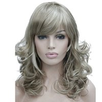 Wholesale Long Wavy Layered Wigs - StrongBeauty Women's Wig Bob Long Wavy Layered Hair Black Auburn Synthetic Full Wig 8 Color