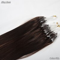 Wholesale Grade A Hair Products Virgin Brazilian Human Loop Inch Cheap Micro Loop Hair Extension Ring g per strand and g per pack
