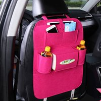 Wholesale New Factory Car Seats - 2017 new car bag multi-function car seat bags environmental protection material back factory price free shipping